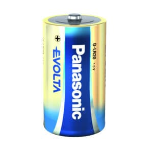 Alkaline evolta lr20 d batteri