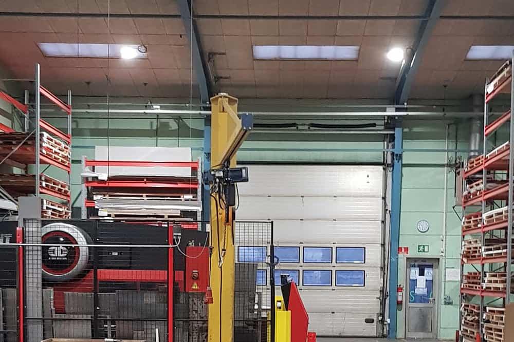 Bevola produktionshal led high bay