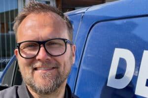 """""""De vil alle sammen havde lysberegninger og 3D tegninger nu. Og alt skal dokumenteres. Der hjælper det, når vores leverandører kan komme med en del af papirarbejdet,"""" konstaterer Henning Ljungstrøm, der er direktør & partner i Demskov El."""