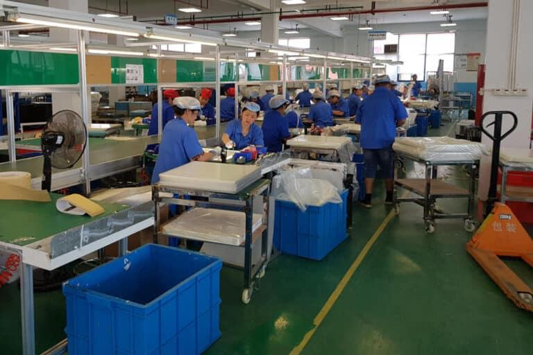 Quality made in china på besøg hos sheenly led paneler